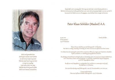 Pater Klaas Schilder (Madoet)